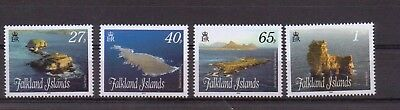2009 Islands, Stacks & Bluffs (2) Set Of 4 (1136-1139) Mnh Cv £8.00