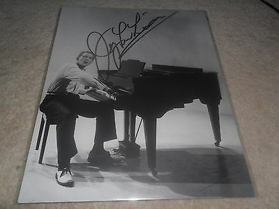 Jerry Lee Lewis Autographed Signed Picture 10 X 8