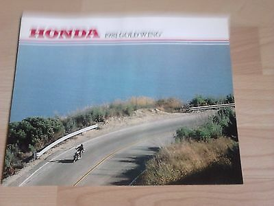 Honda Gold Wing (1981 US market) brochure