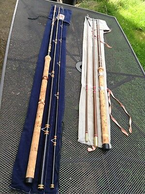 Vintage Milbro Classic And Rodrill Gold Crest Rods