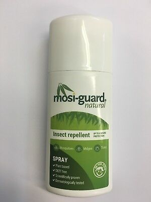 MOSI-GUARD ALL NATURAL INSECT REPELLENTS CONTAINS CITRADOL 75ml DEET FREE