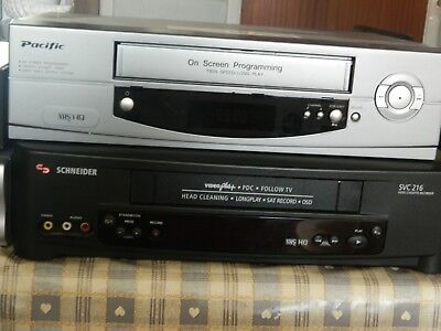 Vhs Video Players X 2