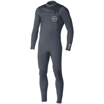 Xcel 3/2mm Axis Comp X2 Wetsuit Graphite Grey NEW CZ Chest Zip GBS Steamer SALE