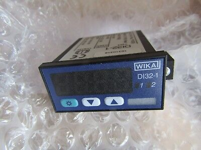 WIKA Panel Mount Digital Hydraulic Pressure Indicator 7442603 - P4 2974830