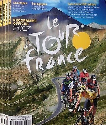 2017 Tour De France Official Programme Issued By Aso