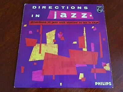 """DIRECTIONS IN JAZZ"" original rare 1964 vinyl featuring BILL LE SAGE and RONNIE"