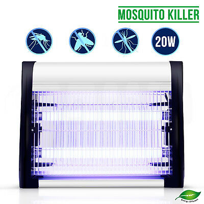 20W Electric Fly Insect Killer Pest Control Catcher Lamp Bug Zapper Trap