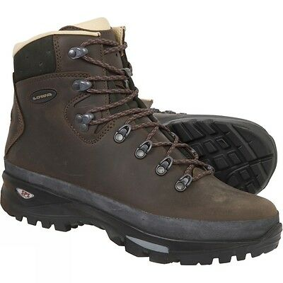 Lowa Munro Women's Leather Lined Dark Brown Walking Boots *Various Sizes*