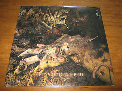 """GRAVE """"Exhumed"""" 2 X LP entombed dismember"""