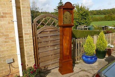 A Westminster chiming Longcase or Grandfather clock with German movement.