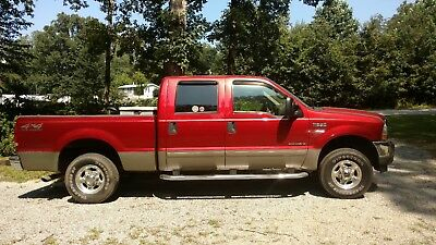 2002 Ford F-250 2002 Ford F-250 7.3L Diesel 4x4 Tow Package & Tool Box 1 OWNER 2002 Ford F-250 7.3L Diesel 4x4 Crew Cab with Tow Package & Tool Box