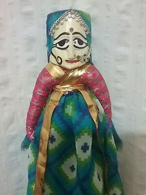 Traditional Indian Puppet Rajasthan