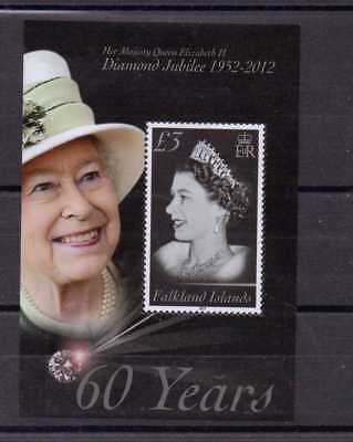 2012 Diamond Jubilee Minisheet (Sg Ms1215) Mnh Cv £9.00