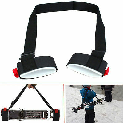 Pro Snowboard Carrier Utility Skiing Shoulder Straps Ski Handle Binding Tools A