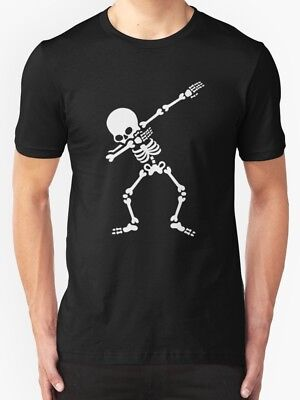 New Dabbing skeleton (Dab) Men's Clothing T-shirt size S-2XL