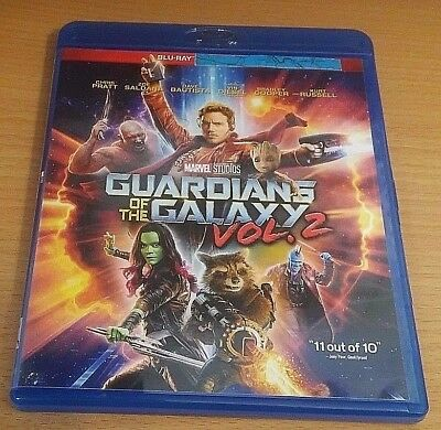 Guardians of the Galaxy Vol. 2 Bluray disc/case/cover only-no digital- 2017 PV