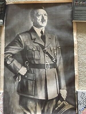 1943 Authentic Hitler Poster