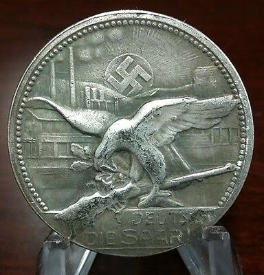 Shooting Third Reich Nazi coin 1935  Exonumia WW2 WWII German