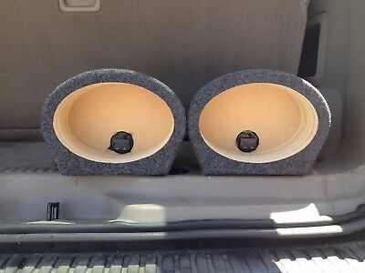 "5x7 6""x8"" SPEAKER BOXES 5""x7"" SPEAKER ENCLOSURES COAXIAL CAR SPEAKERS BOXES"