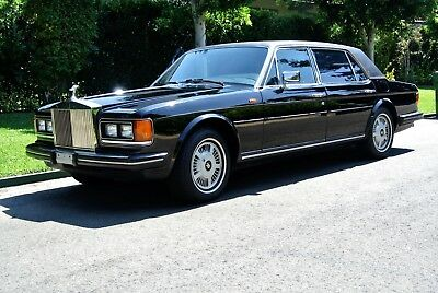 1986 Rolls-Royce Silver Spirit/Spur/Dawn Silver Spur 1 OWNER, LOW MILES, BLK/BLK, RECORDS, SERVICED! MINT!!!! MUST SEE!!
