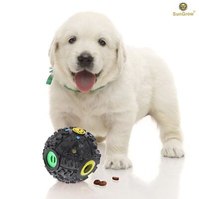 SunGrow Interactive Cat & Dog Toy - puzzle and treat dispenser, Increases IQ