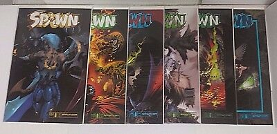 Spawn Image Mcfarlane154 155 156 157 158 159 Vf/nm Lot Of 6 Low Print Run Comics