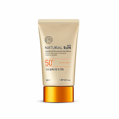 The Face Shop Natural Sun Eco Power Long-lasting Sun Cream SPF50+ PA+++ 50ml