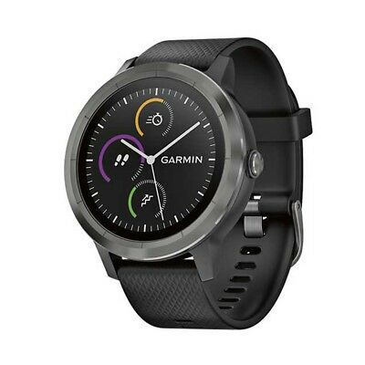 NEW NEW Garmin Vivoactive 3 Watch, Gunmetal from Rebel Sport   from Rebel Sport