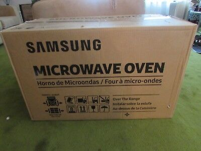 Samsung stainless steel over the range Microwave Oven, ME20H705MSS, NIB