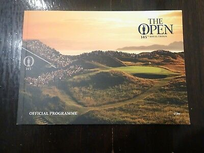 The 2016 Official Open Golf Championship Royal Troon Programme R&A Championships