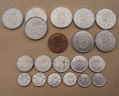 Netherlands: lot of old Dutch currency