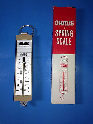 Ohaus Spring Scale New In The Box 0 To 250 Grams 0 To 9 Oz