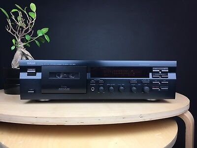 YAMAHA NATURAL SOUND KX-393 Single Cassette Deck. 99p NR