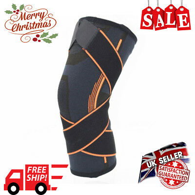 Knee Brace Support Neoprene Patella stabilising Belt Adjustable Brace Strap NEW