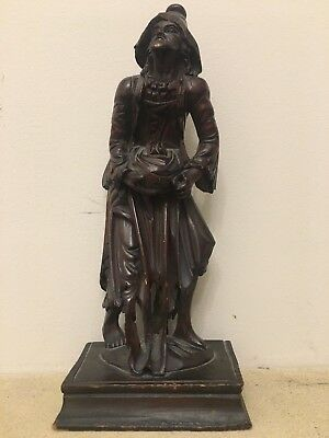 17th / 18th century German carving of a begger .