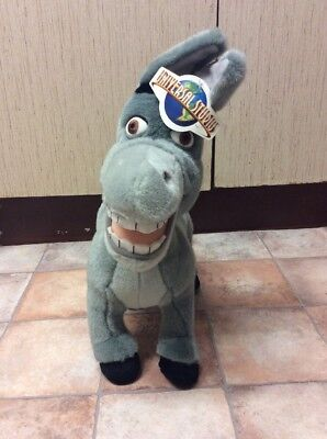 Dreamworks Donkey Plush Soft Toy. Approx 15 Inches High. From Universal Studios.