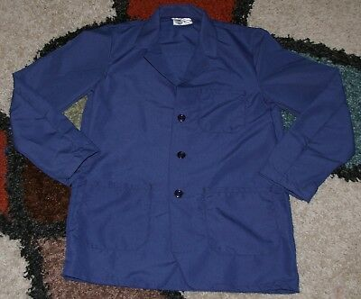"Best Medical Woman L/S Staff Lab Coat 3 pocket Navy 30"" Length Sizes XS to M"