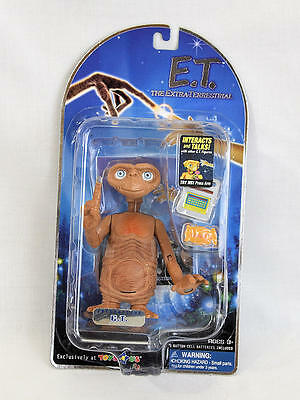 """E.T. Extra Terrestrial Interactive Figure 2001 Toys R Us Exclusive 5"""" NEW"""