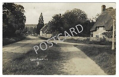 RP PC of Long Compton village in Warwickshire, Percy Simms photographer, c.1912?