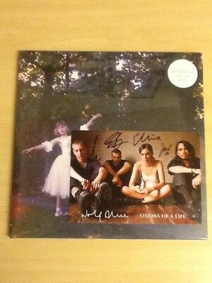 """Wolf Alice-2Lp White Vinyl+Signed Art Card+Exclusive 7""""-Visions Of Life Lp-M/sld"""