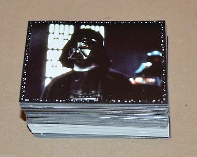 1996 PANINI Star Wars Complete Set 216 stickers + 2 Differerent Sealed Packets..