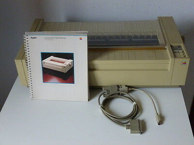Apple Imagewriter Wide Carriage stampante ad aghi vintage