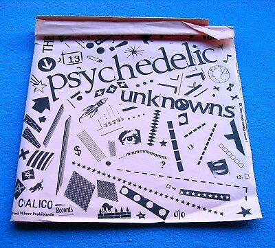 """PSYCHEDELIC UNKNOWNS VOL. 2 1st US 7"""" *CALICO* MEGA RARE GARAGE PSYCH EP~MINT!!!"""