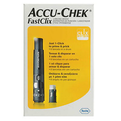 NEW Accu-Chek FastClix Lancing Device