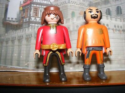 PLAYMOBIL FIGURES - lot of 2 figures
