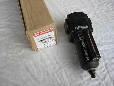 NORGREN Excelon ,  inline / airline Water trap / Filter ,, part no. F73G-4GN-AD3