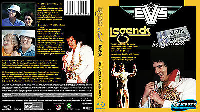 Elvis presley in concert 1977 CBS Box set blue ray and 2 cd's