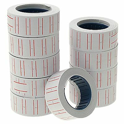 10pcs Self Adhesive Labels Roll Retail Store Price Stickers 21mmx12mm D9Z4