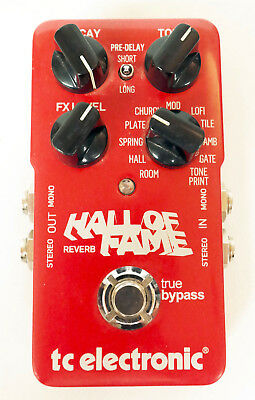 TC Electronic Hall of Fame Reverb Pedal - Guitar Effects