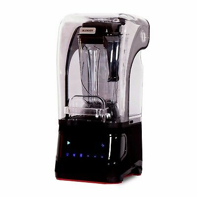 Oliver Smith Blender 1680w Professional Grade 84 oz Silent Cover Smoothie Black
